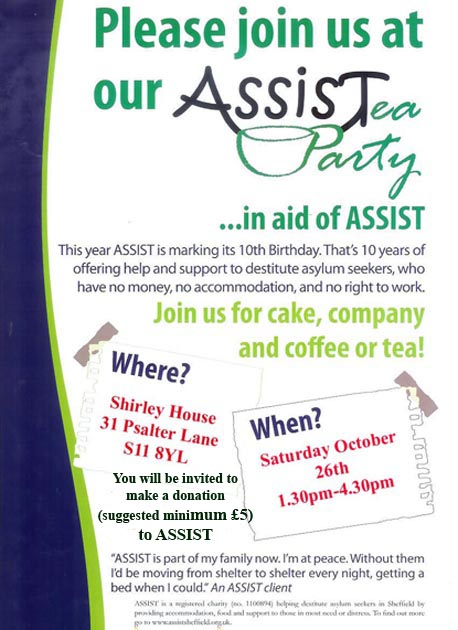 Assist Tea Party