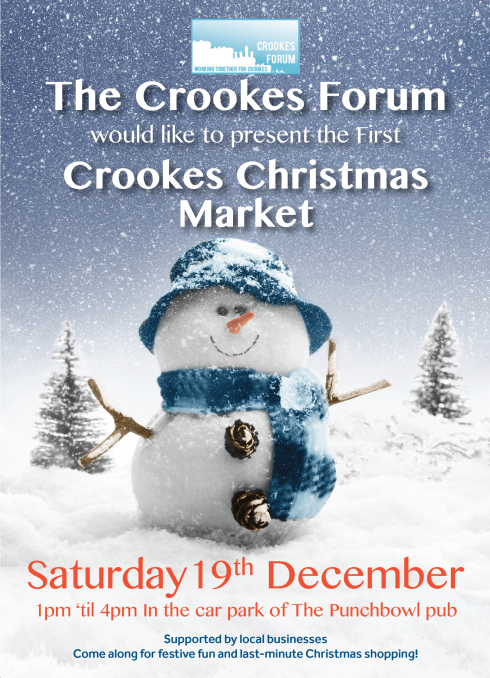 Crookes Christmas Market 19th Dec 2015