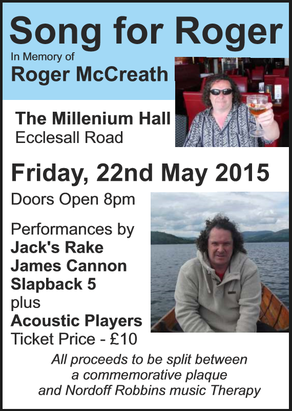 Song For Roger – 22nd May
